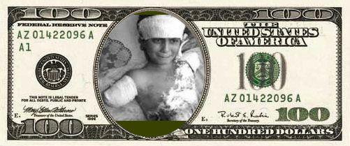 Dólares criminales.