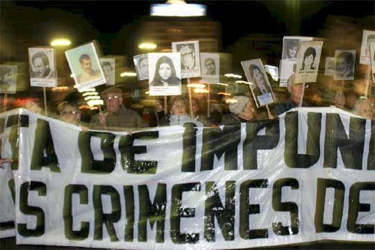 Una nueva marcha en memoria de los desaparecidos.