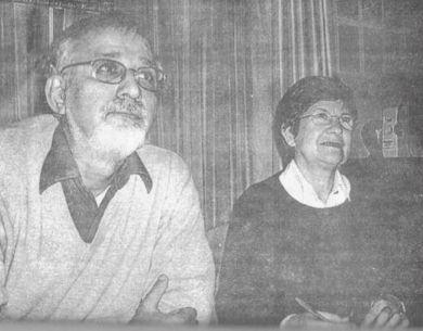 Raúl Olivera y Sara Méndez