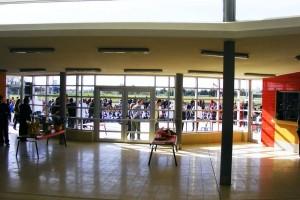 Inauguración de la Escuela de Tiempo completo N° 213 de Jardines de Pando