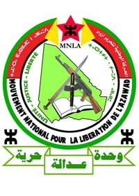 Emblema del Mouvement National de Liberation de l'Azawad