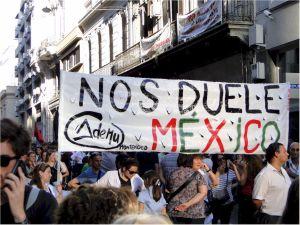 El 17 de noviembre, la Asociaciòn de estudiantes de magisterio en la marcha convocada por Madres y Familiares de Uruguayos Detenidos Desaparecidos, la Federación de Estudiantes Universitarios del Uruguay (FEUU), el PIT-CNT, la Federaciòn de Cooperativas por Ayda Mutua (FUCVAM) y otras organizaciones.