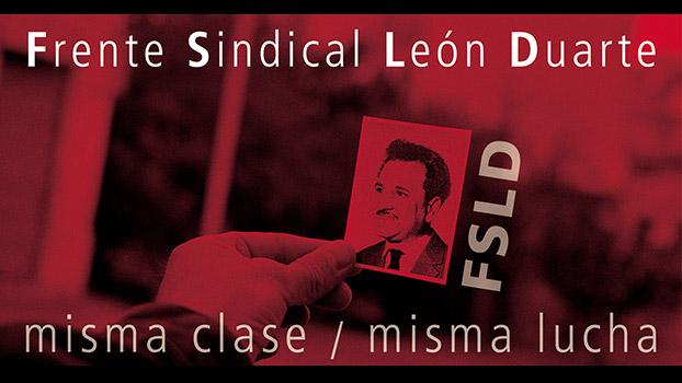 Sitio del Frente Sindical León Duarte